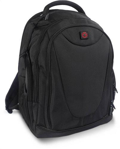Swissbrand Σακίδιο πλάτης Georgia 46χ33χ22 cm με θέση για laptop