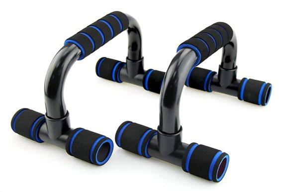 Χειρολαβές για push-ups GYM-0007 2τμχ μαύρες