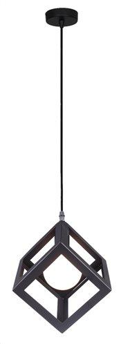 POWERTECH φωτιστικό οροφής HLL-0011 E27 μεταλλικό μαύρο