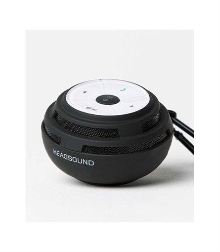 HEADSOUND-ball BLACK φορητό ηχείο με μικρόφωνο και επιλογή απάντησης κλήσεων