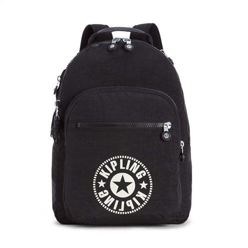 Kipling Τσάντα πλάτης με θέση για Laptop Clas Seoul Lively Black