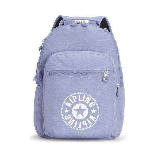 Kipling Τσάντα πλάτης με θέση για Laptop Clas Seoul Timid Blue