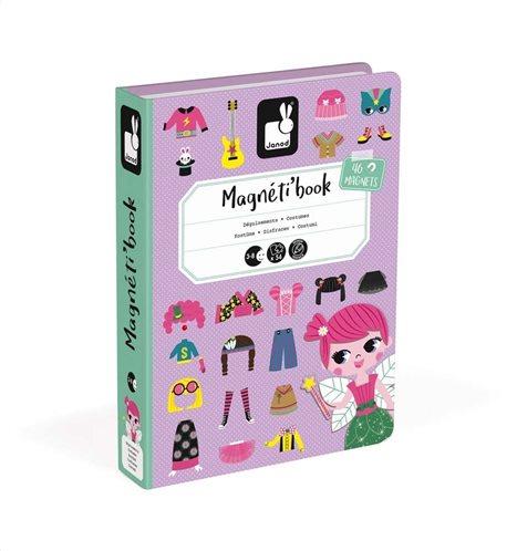 Janod Μαγνητικό Βιβλίο Κοριτσίστικα Ρούχα