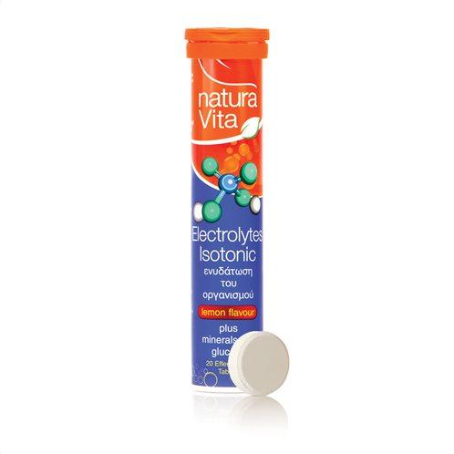 Νatura Vita Συμπλήρωμα Διατροφής Electrolytes Isotonic Plus 20 Ταμπλέτες
