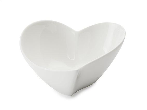 Maxwell & Williams Μπολ Καρδιά Πορσελάνη 14cm. White Basics