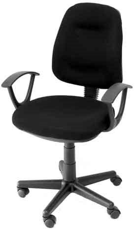 Campus Καρέκλα Γραφείου Μαύρο K08642N-1