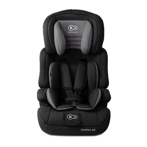 Kinderkraft Παιδικό Κάθισμα Αυτοκινήτου Χρώματος Μαύρο για Παιδιά 9-36 Kg Comfort Up