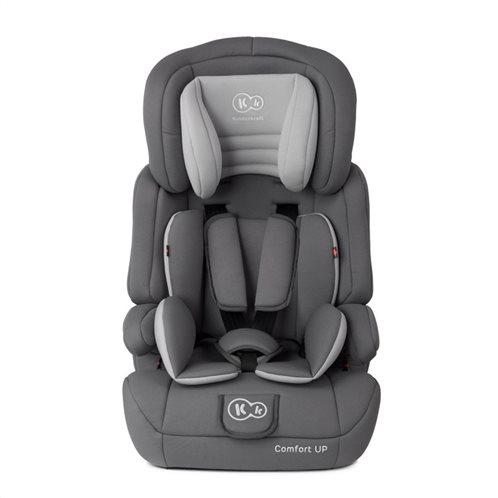 Kinderkraft Παιδικό Κάθισμα Αυτοκινήτου Χρώματος Γκρι για Παιδιά 9-36 Kg Comfort Up