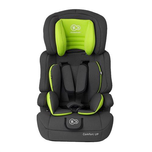 Kinderkraft Παιδικό Κάθισμα Αυτοκινήτου Χρώματος Lime για Παιδιά 9-36 Kg Comfort Up