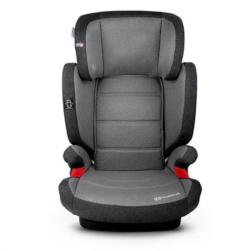 Kinderkraft Παιδικό Κάθισμα Αυτοκινήτου Χρώματος Γκρι για 15-36 Kg Expander IsoFix