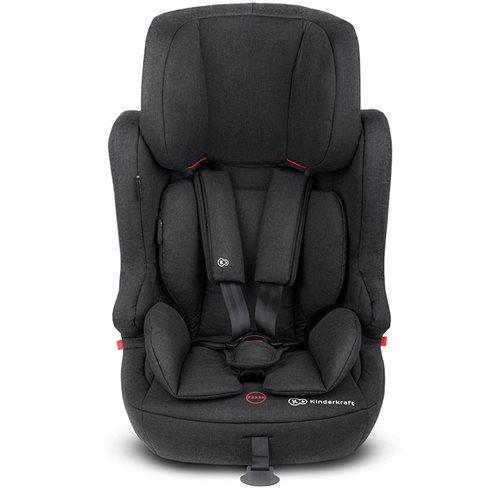 Kinderkraft Παιδικό Κάθισμα Αυτοκινήτου Χρώματος Μαύρο για Παιδιά 9-36 Kg  Fix2Go IsoFix