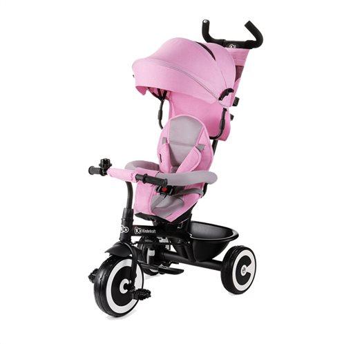KinderKraft Τρίκυκλο Παιδικό Ποδήλατο - Καρότσι  Aston Χρώματος Ροζ