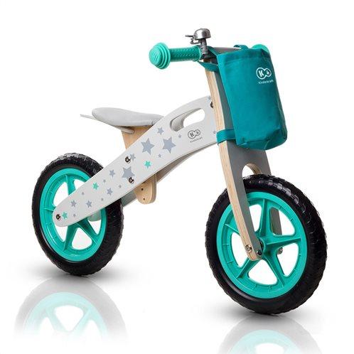KinderKraft Παιδικό Ξύλινο Ποδήλατο Ισορροπίας Με Αξεσουάρ  Runner Stars