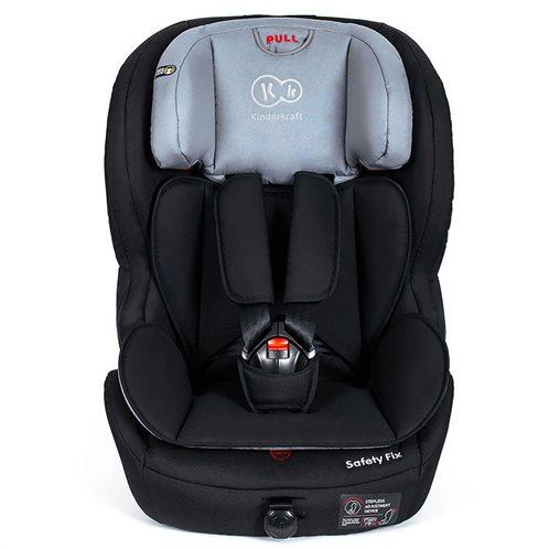 Kinderkraft Παιδικό Κάθισμα Αυτοκινήτου Χρώματος Μαύρο για Παιδιά 9-36 Kg Safety - Fix