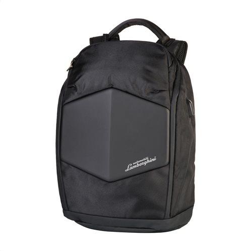 Lamborghini τσάντα πλάτης 30x42x13cm Galleria Black