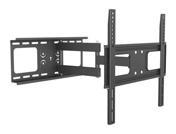 "BRATECK βάση TV τοίχου με πλήρες κίνηση LPA36-443A για 32-55"" 50kg"