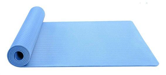 Στρώμα γυμναστικής MATT-0001 TPE 183x61x0.6cm μπλε