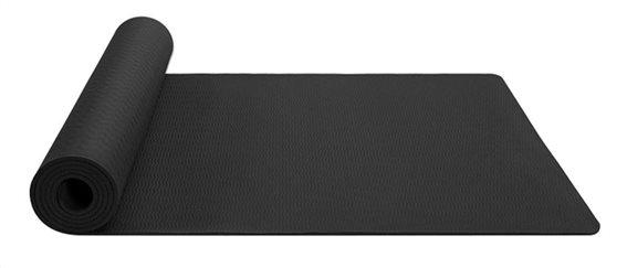 Στρώμα γυμναστικής MATT-0003 TPE 183x61x0.6cm μαύρο