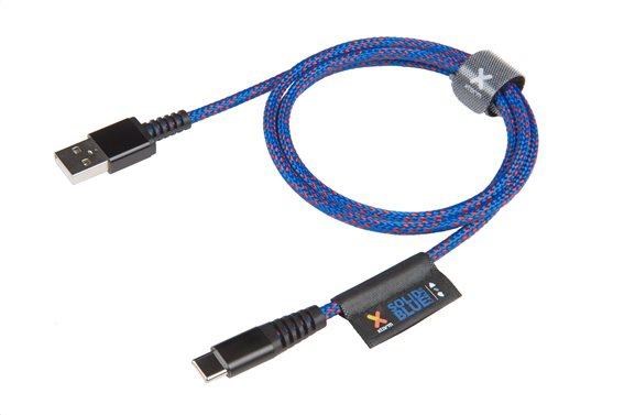 XTORM SOLID BLUE USB-C BLUE 1m