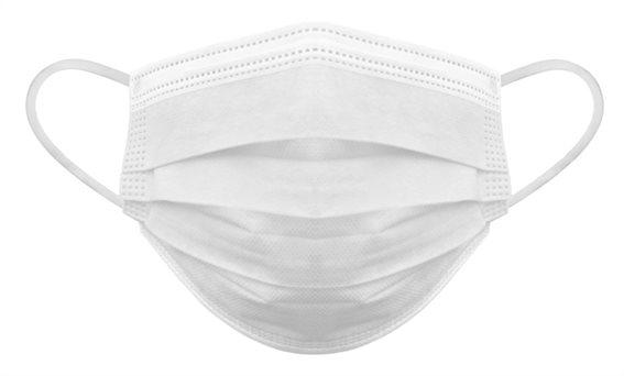 Μάσκα προστασίας 3 στρωμάτων MSK-0010 με φίλτρο BFE 80% 10τμχ