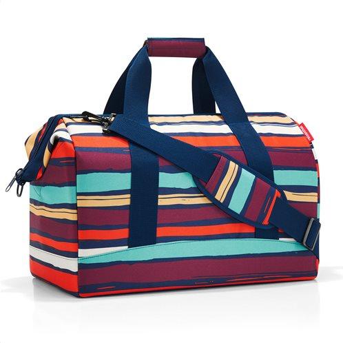 Reisenthel τσάντα ταξιδίου σειρά allrounder L Artist Stripes