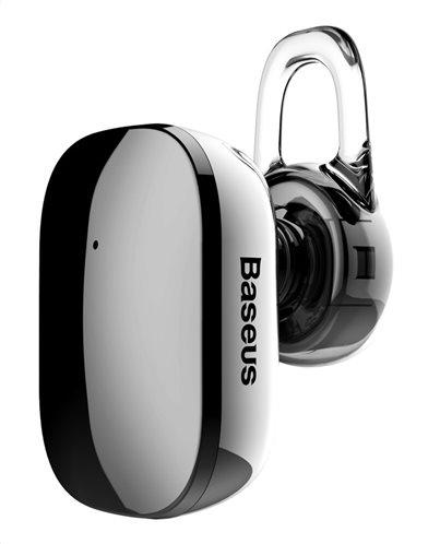Baseus Bluetooth Ακουστικό Headset Encok Mini A02 NGA02-0A Μαύρο Mirror