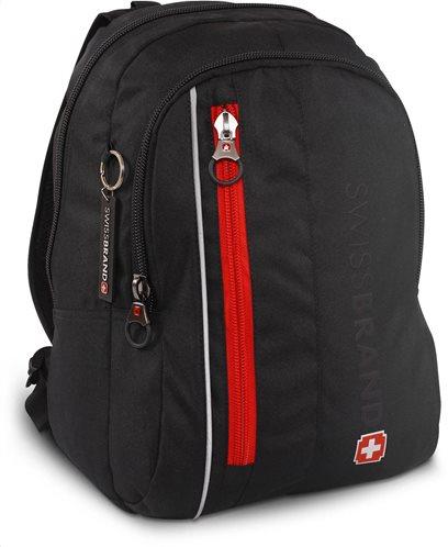 "Swissbrand Σακίδιο πλάτης Oster 40x31x19 cm με θέση για laptop 15"""