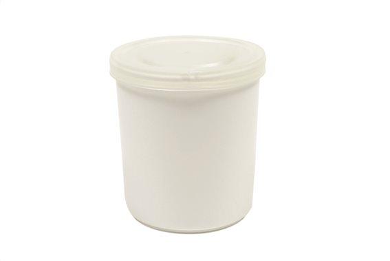 Maxwell & Williams Δοχείο/Βάζακι με Καπάκι Πορσελάνη 10cm. White Basics