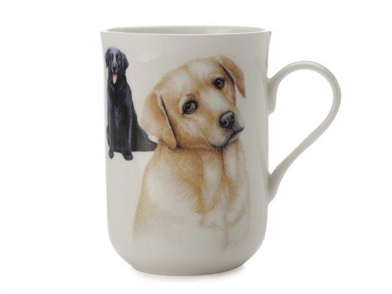 "Maxwell & Williams Κούπα ""Labrador-Κατοικίδια Σκυλιά"" 300ml. Cashmere Bone China"