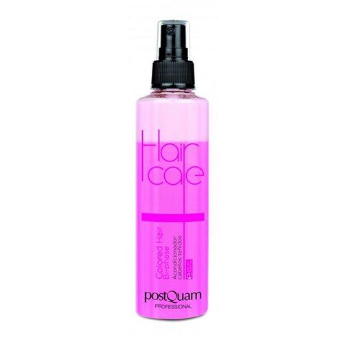PostQuam Conditioner για Βαμμένα Μαλλιά με Κερατίνη  Colored Hair Bi-phase 200 ml