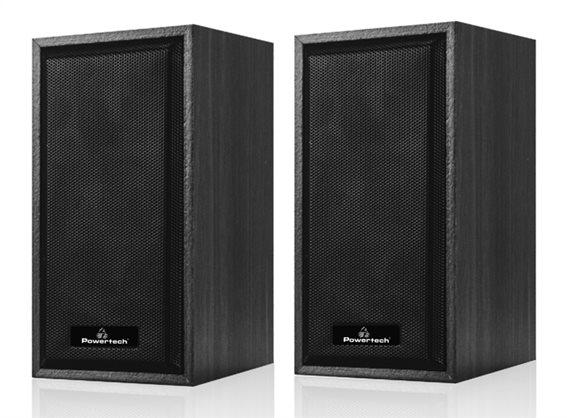 POWERTECH ηχεία Premium sound PT-845 2x 3W 3.5mm μαύρα