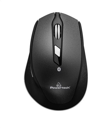 POWERTECH οπτικό ασύρματο ποντίκι Bluetooth 3.0 1600dpi μαύρο
