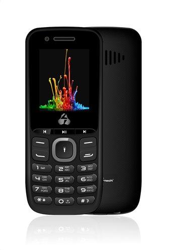 POWERTECH Κινητό Τηλέφωνο Milly Small PTM-14 Dual SIM Multimedia μαύρο