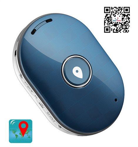 Mini GPS Eντοπισμού Θέσης Q60 400mAh Αδιάβροχο Blue