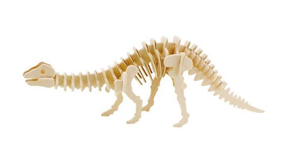 ROWOOD Ξύλινο 3D πάζλ δεινόσαυρος απατόσαυρος JP219 39τμχ