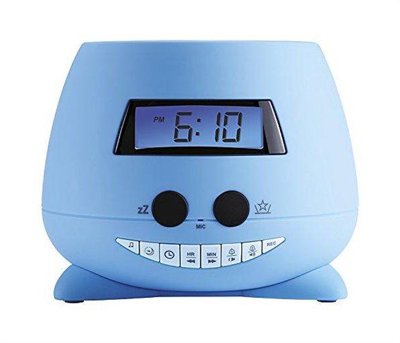 BIGBEN Ξυπνητήρι RPE01 My Teddy με προβολέα & καταγραφή φωνής μπλε