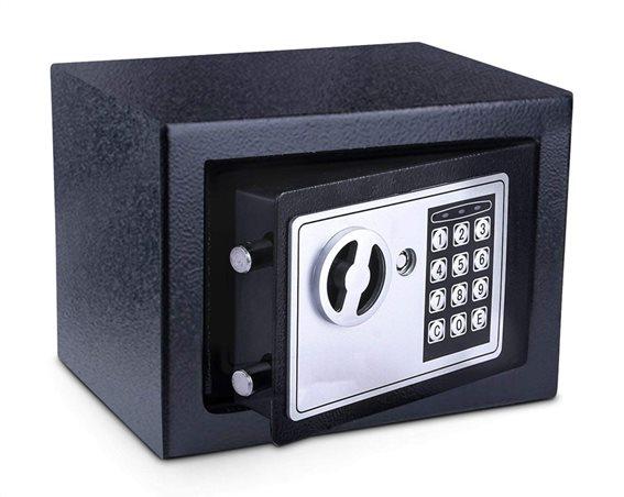 POWERTECH Χρηματοκιβώτιο ασφαλείας SB-17E 3-8 ψηφίων 17x23x17cm