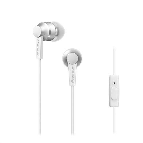 Pioneer SE-C3T In-Ear Headphones – Άσπρο