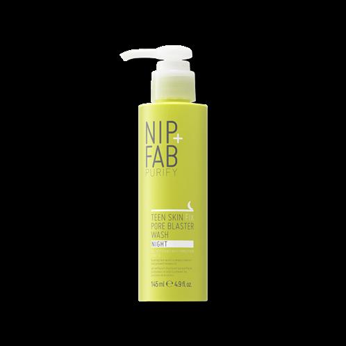 Nip+Fab Καθαρισμός Προσώπου TEEN SKIN FIX JELLY WASH NIGHT Gel 145ml