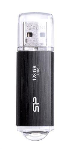 SILICON POWER USB Flash B02 128GB USB 3.1 Gen1 μαύρο