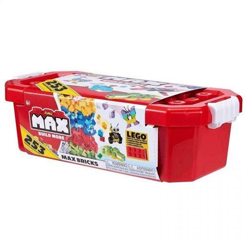 Max Build Κουτί Αποθήκευσης Με 253 Τουβλάκια