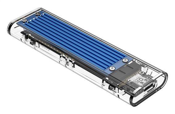 ORICO θήκη για Μ.2 B key SSD TCM2M-C3 USB3.1 10Gbps 2TB μπλε