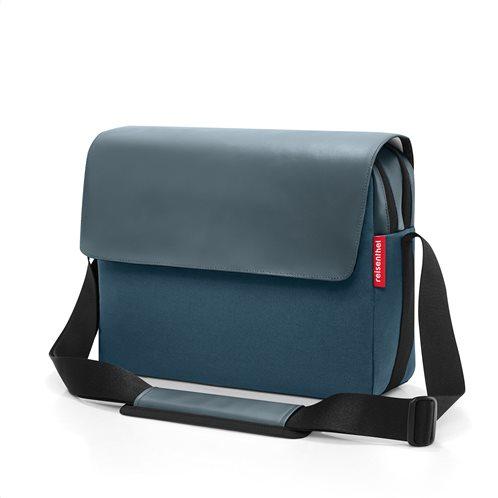 Reisenthel τσάντα ταχυδρόμου messengerbag 35x26x11cm Canvas Blue