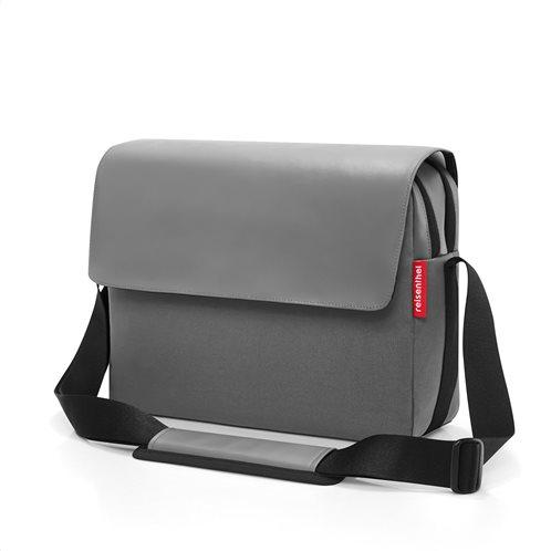 Reisenthel τσάντα ταχυδρόμου messengerbag 35x26x11cm Canvas Grey