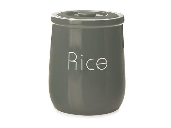 "Maxwell & Williams Δοχείο Κεραμικό ""Rice"" Γκρι 1,5lt. Chef Du Monde"