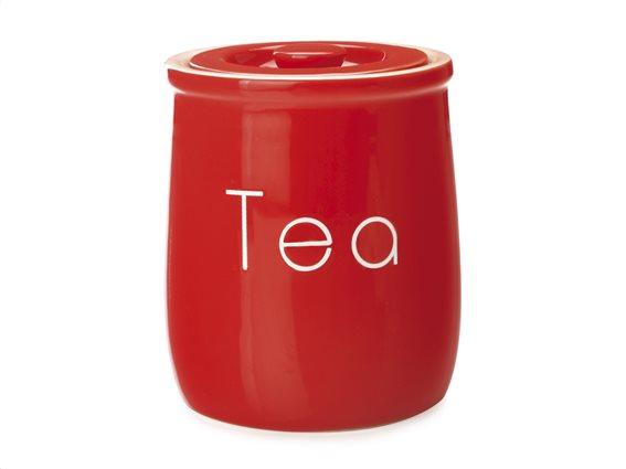 """Maxwell & Williams Δοχείο Κεραμικό """"Tea"""" Κόκκινο 500ml. Chef Du Monde"""