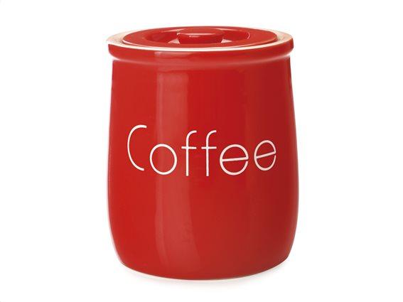 """Maxwell & Williams Δοχείο Κεραμικό """"Coffee"""" Kόκκινο 500ml. Chef Du Monde"""