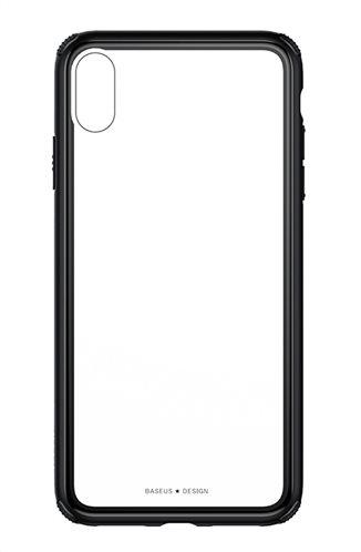 BASEUS θήκη See-through για iPhone XS WIAPIPH58-YS01 μαύρο