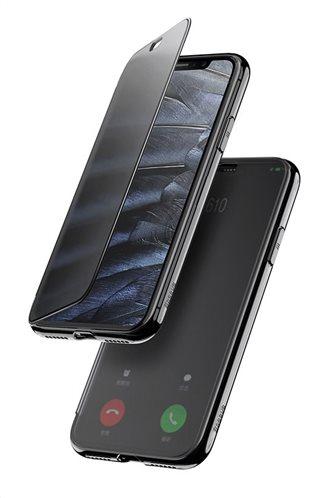 BASEUS θήκη Touchable για iPhone XR WIAPIPH61-TS01 διάφανη