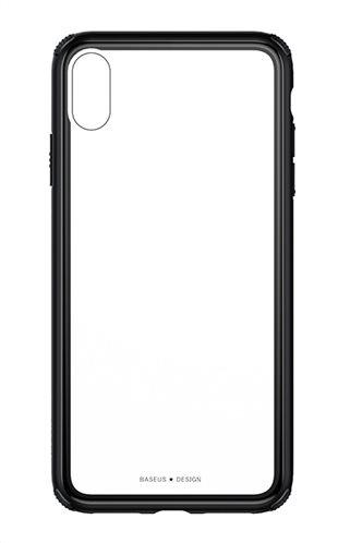 BASEUS θήκη See-through για iPhone XS Max WIAPIPH65-YS01 μαύρο